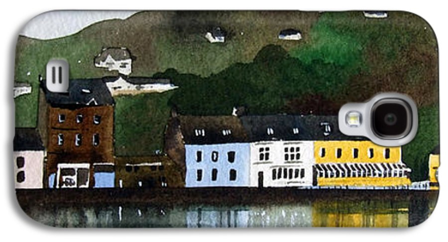Landscape Galaxy S4 Case featuring the painting Tarbert by Paul Dene Marlor