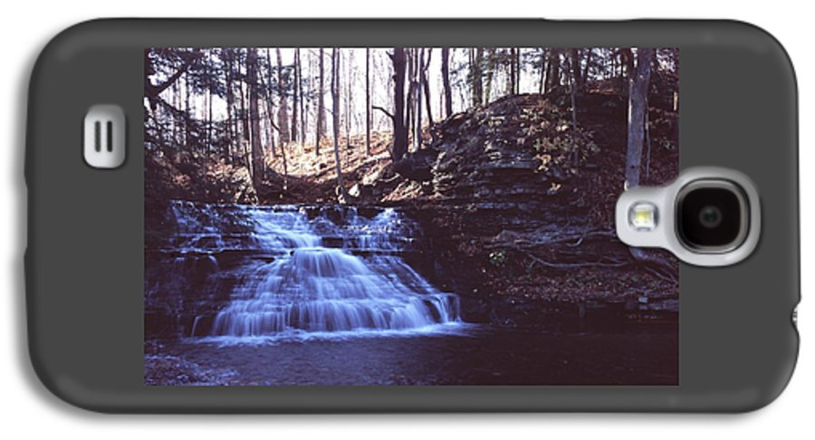 Waterfall Galaxy S4 Case featuring the photograph 111401-4 by Mike Davis