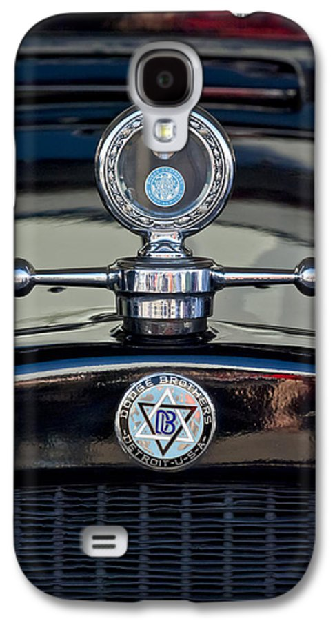 1928 Dodge Brothers Galaxy S4 Case featuring the photograph 1928 Dodge Brothers Hood Ornament by Jill Reger