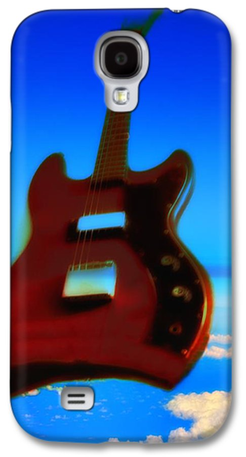 Guitar Galaxy S4 Case featuring the photograph 1963 Guild Jet Star by Bill Cannon