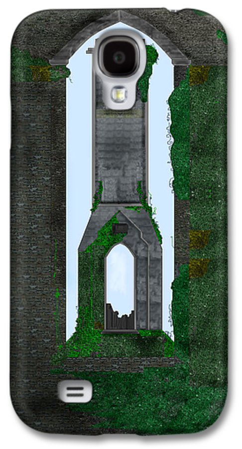 Ireland Galaxy S4 Case featuring the painting Quint Arches In Ireland by Anne Norskog