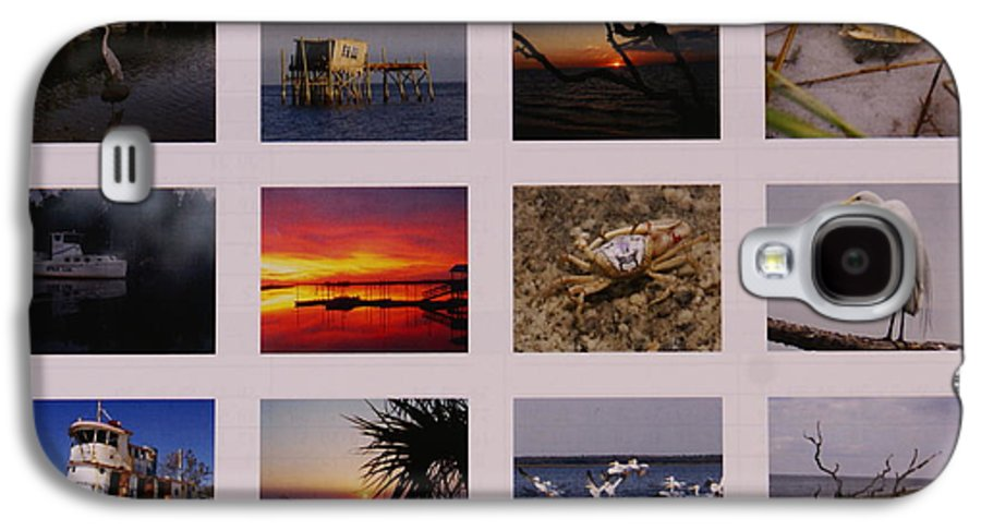 Florida Galaxy S4 Case featuring the photograph 2008 Calendar Back Of Gulf Views Edition by Debbie May