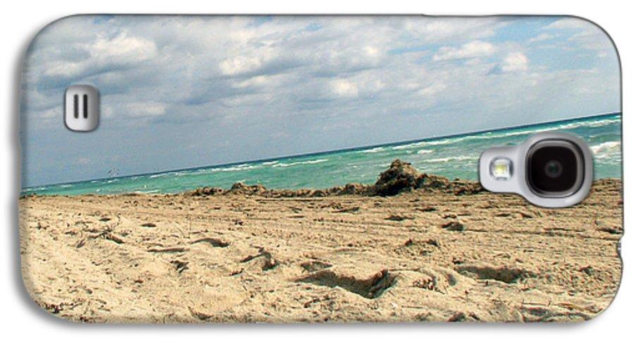 Miami Galaxy S4 Case featuring the photograph Miami Beach by Amanda Barcon