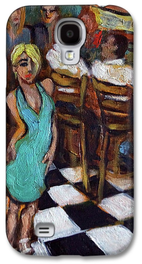 Restaurant Galaxy S4 Case featuring the painting 32 East by Valerie Vescovi