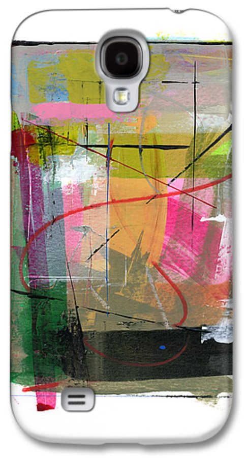 Abstract Galaxy S4 Case featuring the painting Rcnpaintings.com by Chris N Rohrbach