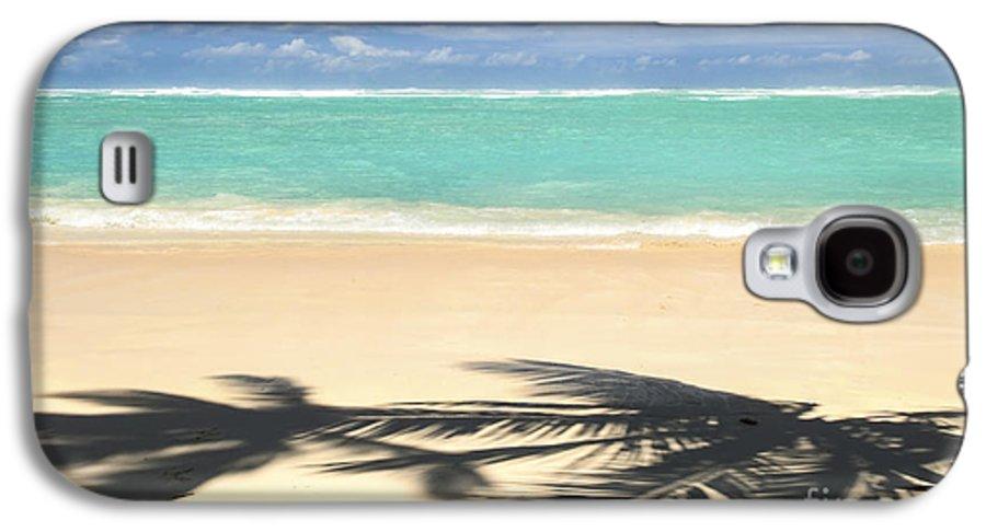 Beach Galaxy S4 Case featuring the photograph Tropical Beach by Elena Elisseeva
