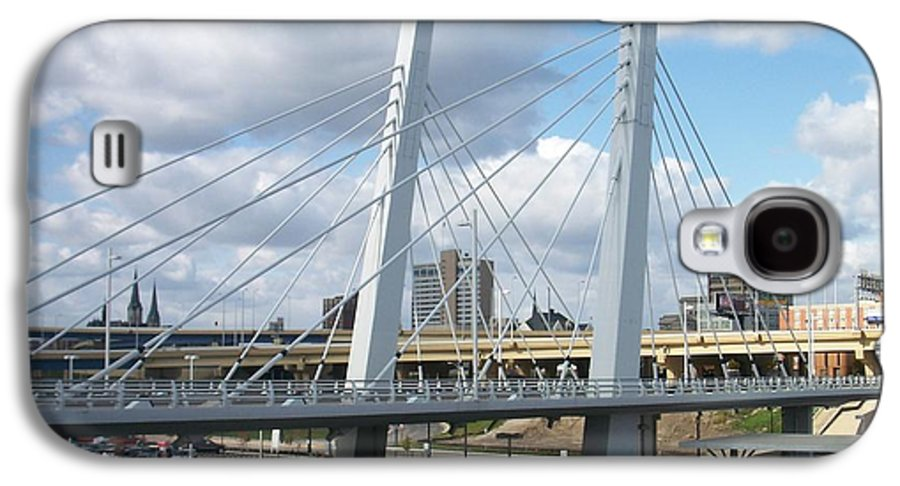Bridge Galaxy S4 Case featuring the photograph 6th Street Bridge by Anita Burgermeister