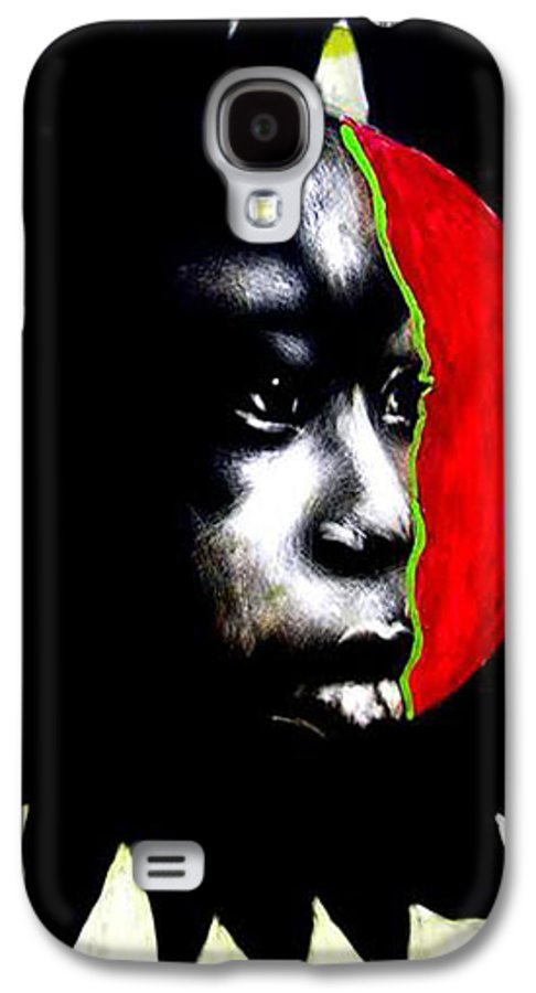 Galaxy S4 Case featuring the mixed media 70 Sunshine by Chester Elmore