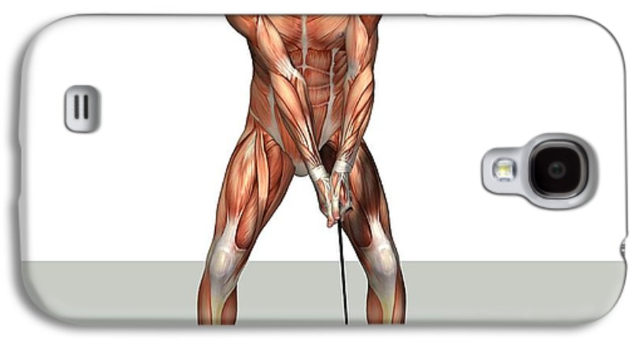 Human Galaxy S4 Case featuring the photograph Male Muscles, Artwork by Friedrich Saurer