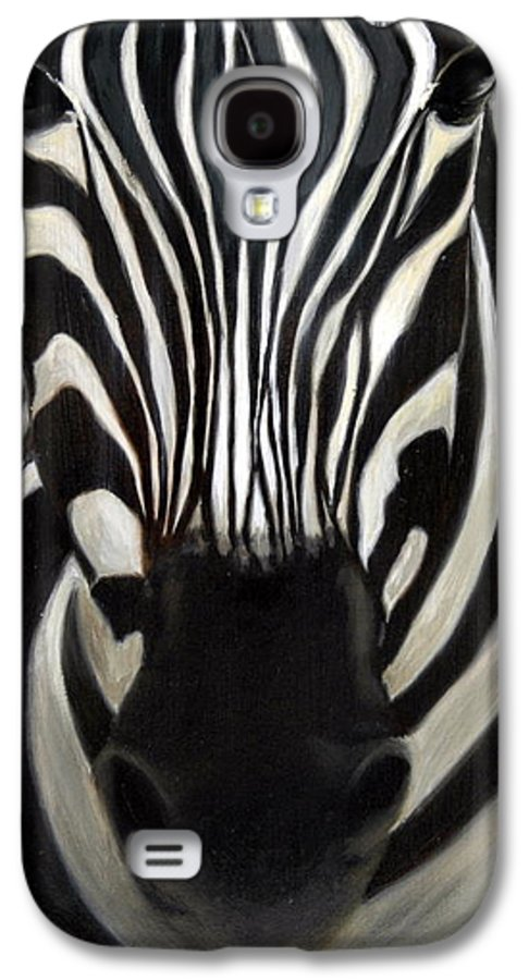 For Availability And Prices Of Limited Edition Prints/giclees Galaxy S4 Case featuring the painting A Close Look by Greg Neal