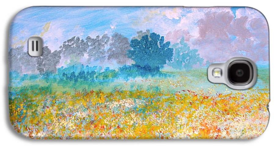 New Artist Galaxy S4 Case featuring the painting A Golden Afternoon by J Bauer