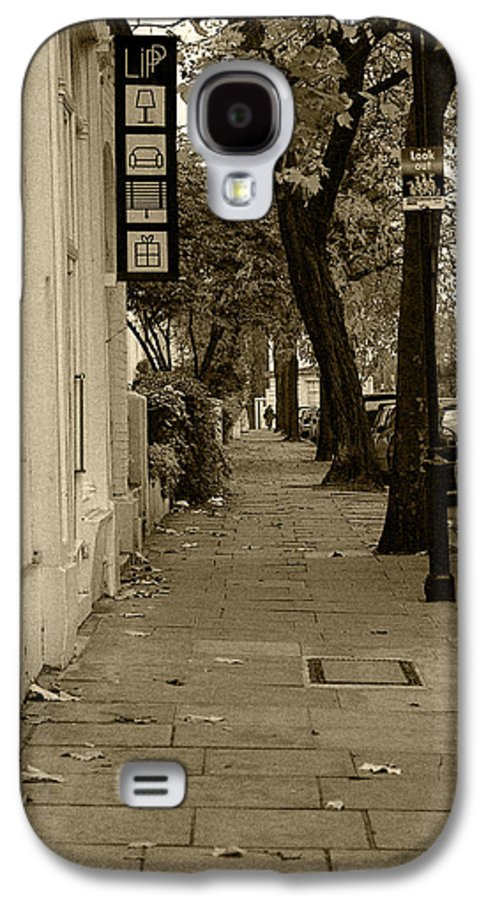 London Galaxy S4 Case featuring the photograph A London Street I by Ayesha Lakes