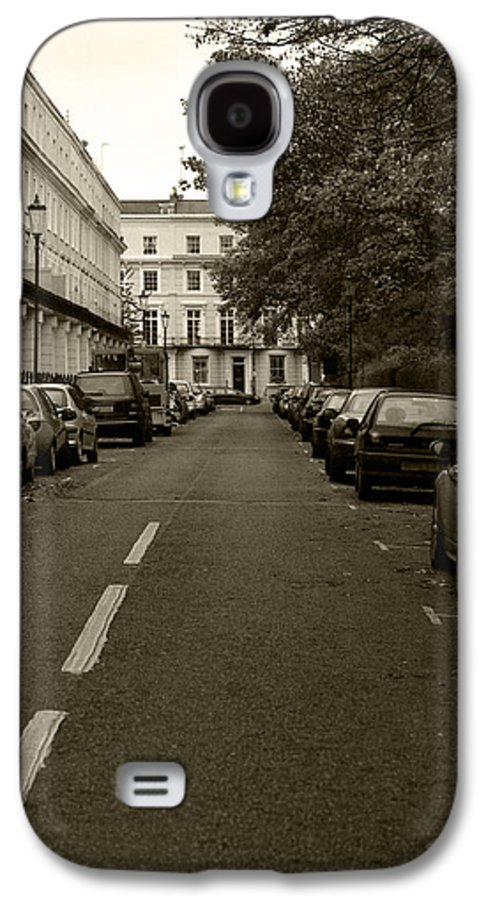 Travel Galaxy S4 Case featuring the photograph A London Street II by Ayesha Lakes