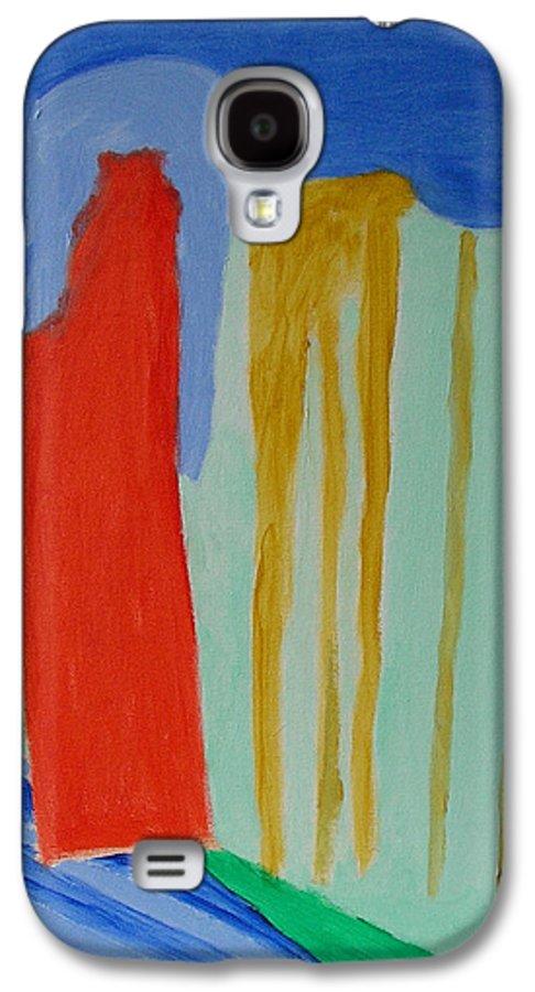 Spiritual Galaxy S4 Case featuring the painting A New Beginning by Harris Gulko