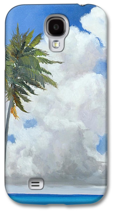 Landscape Galaxy S4 Case featuring the painting A Perfect Day by Glenn Secrest