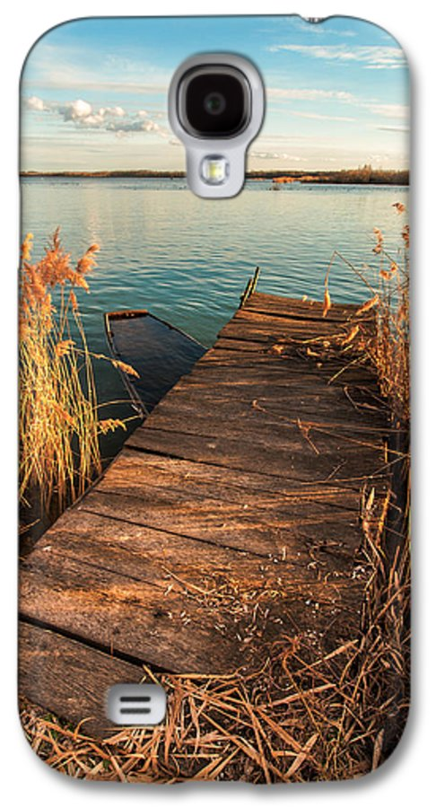 Landscapes Galaxy S4 Case featuring the photograph A Place Where Lovers Meet by Davorin Mance
