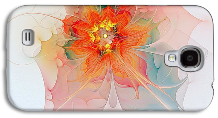 Digital Art Galaxy S4 Case featuring the digital art A Touch Of Spring by Amanda Moore