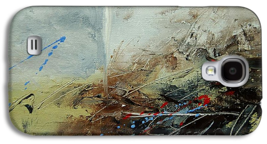 Abstract Galaxy S4 Case featuring the print Abstract 070408 by Pol Ledent