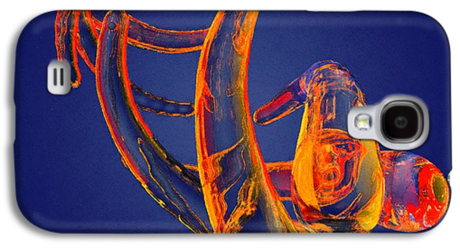 Abstract Galaxy S4 Case featuring the photograph Abstract Number 13 by Peter J Sucy