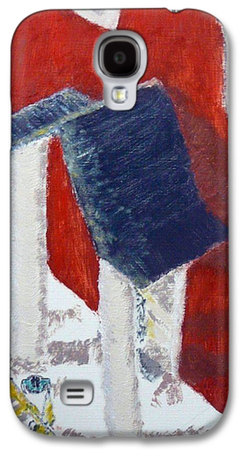 Social Realiism Galaxy S4 Case featuring the painting Accessories by R B