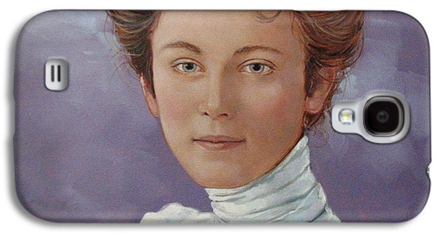Posthumous Portrait Galaxy S4 Case featuring the painting Ada Douglas by Jerrold Carton