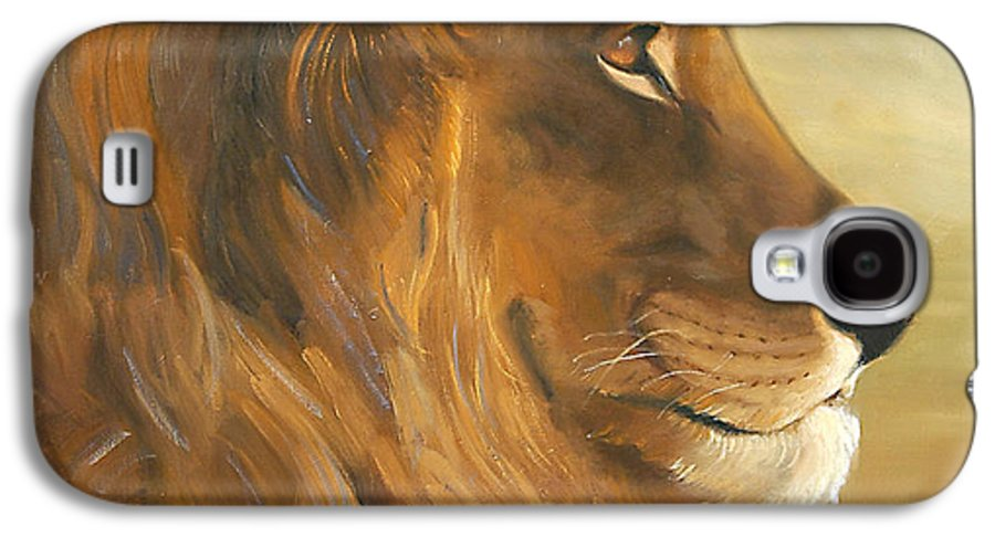 Painting Galaxy S4 Case featuring the painting African King by Greg Neal