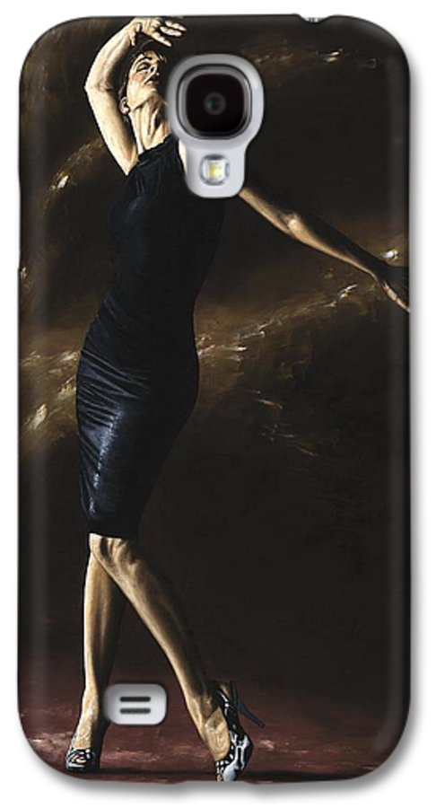 Dance Galaxy S4 Case featuring the painting After The Dance by Richard Young