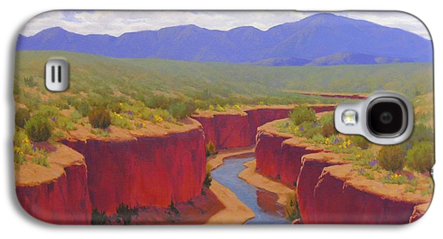 Cody Delong Galaxy S4 Case featuring the painting After The Rain by Cody DeLong