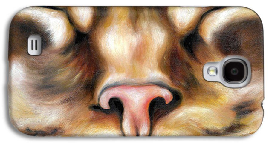 Cat Galaxy S4 Case featuring the painting Afternoon by Hiroko Sakai