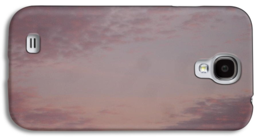 Skyscape Galaxy S4 Case featuring the painting Afternoon Sky by Roger Cummiskey