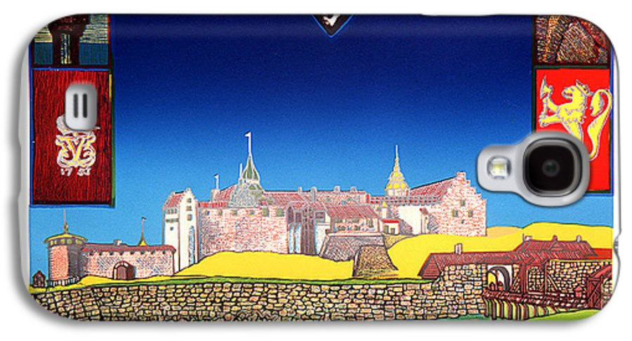 Historic Galaxy S4 Case featuring the mixed media Akershus Festning -akershusfortress by Jarle Rosseland