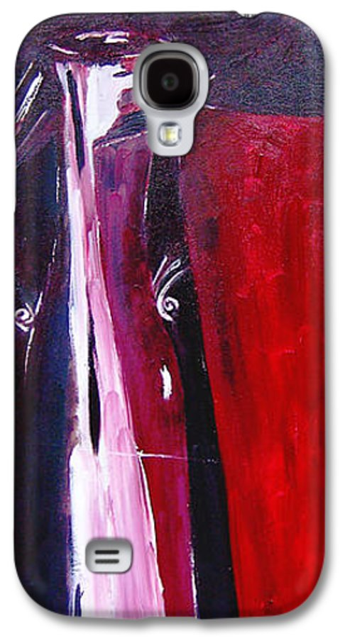 Figurative Galaxy S4 Case featuring the painting Almost Still Life by Olga Alexeeva