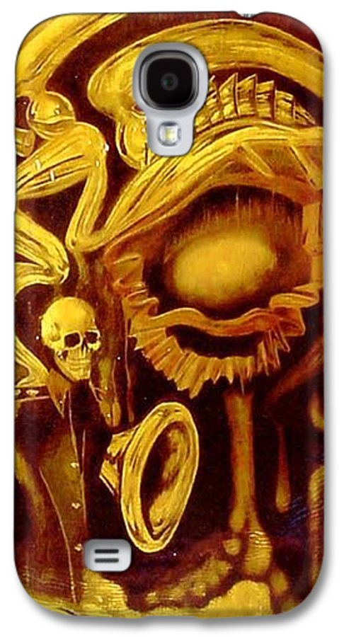 Birth Galaxy S4 Case featuring the painting Alpha Omega by Will Le Beouf