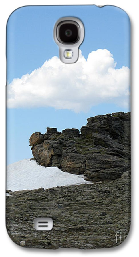 Rocky Mountains Galaxy S4 Case featuring the photograph Alpine Tundra - Up In The Clouds by Amanda Barcon