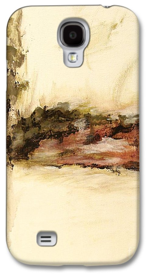 Abstract Galaxy S4 Case featuring the painting Ambiguous by Itaya Lightbourne