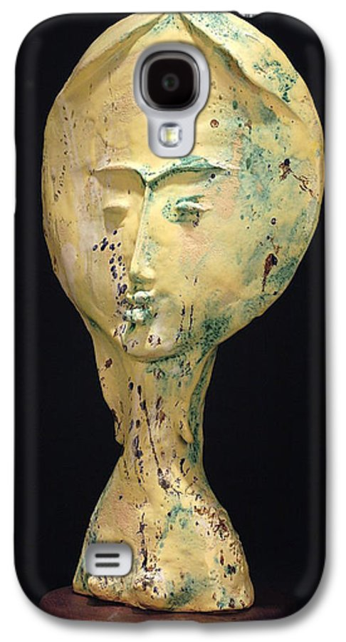 Galaxy S4 Case featuring the sculpture Ambrosia by Gian Genta