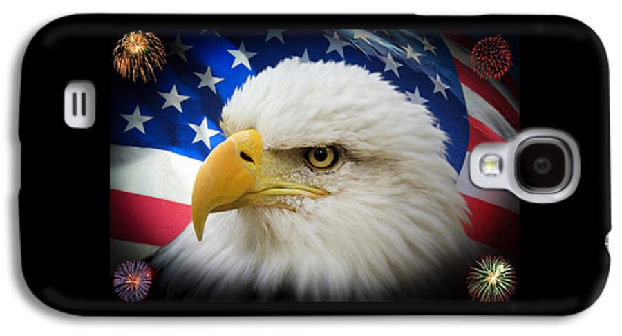 4th Of July Galaxy S4 Case featuring the photograph American Pride by Shane Bechler