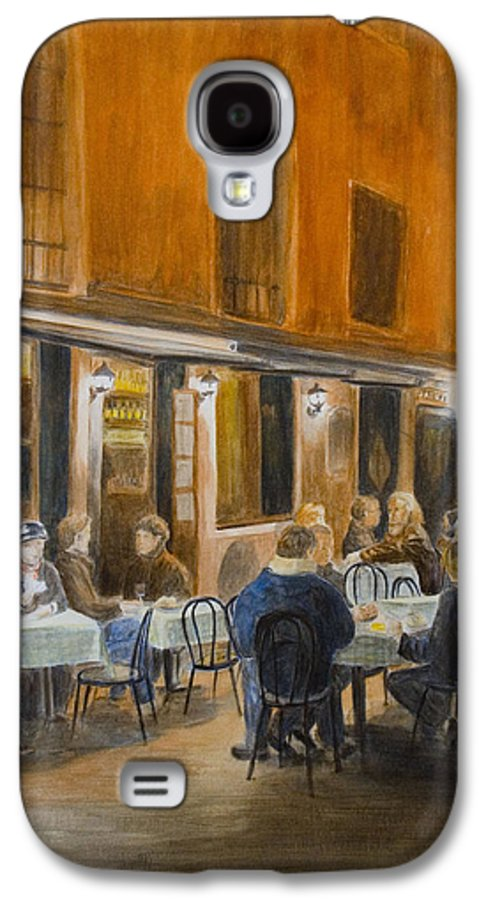 Venice Galaxy S4 Case featuring the painting An Autumn by Nik Helbig