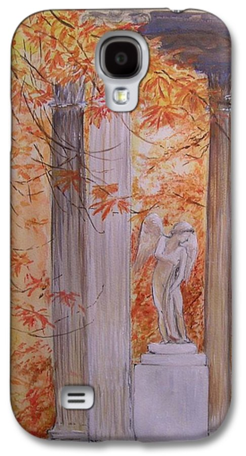 Angel Galaxy S4 Case featuring the painting Ange Petit Trianon Versailles by Lizzy Forrester