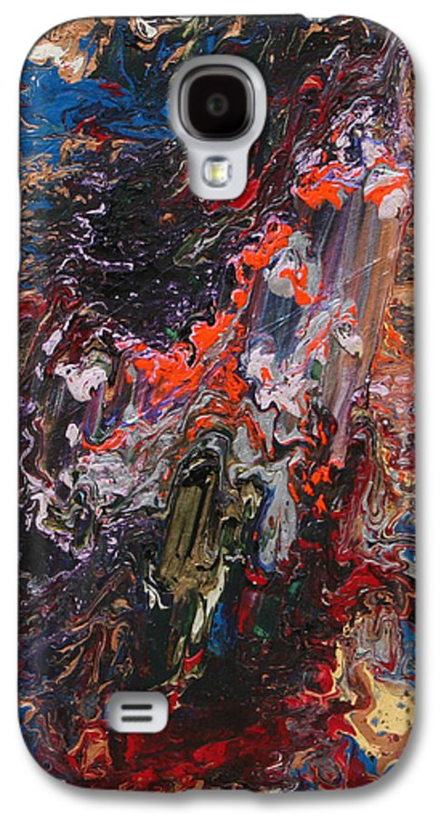 Fusionart Galaxy S4 Case featuring the painting Angel Rising by Ralph White
