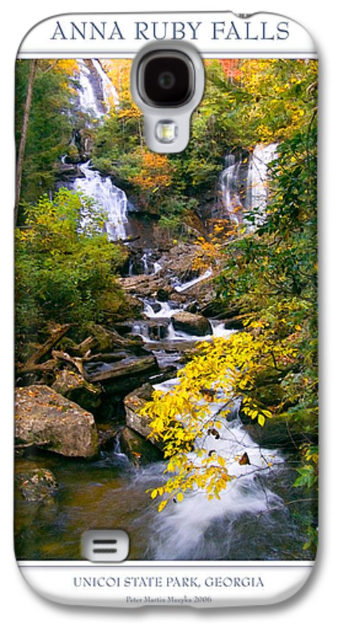 Landscape Galaxy S4 Case featuring the photograph Anna Ruby Falls by Peter Muzyka