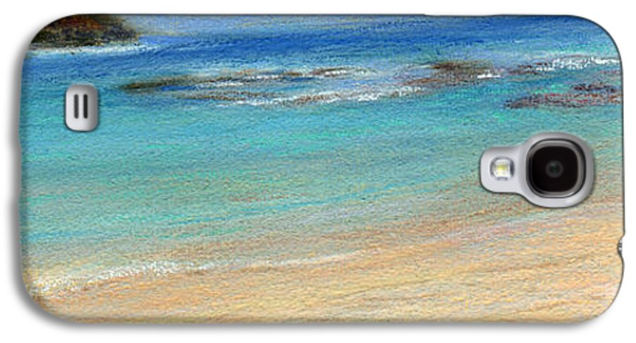 Coastal Decor Galaxy S4 Case featuring the painting Aqua Moloa'a by Kenneth Grzesik
