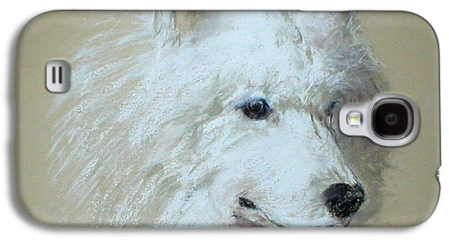 Dog Galaxy S4 Case featuring the drawing Arctic Serenity by Cori Solomon