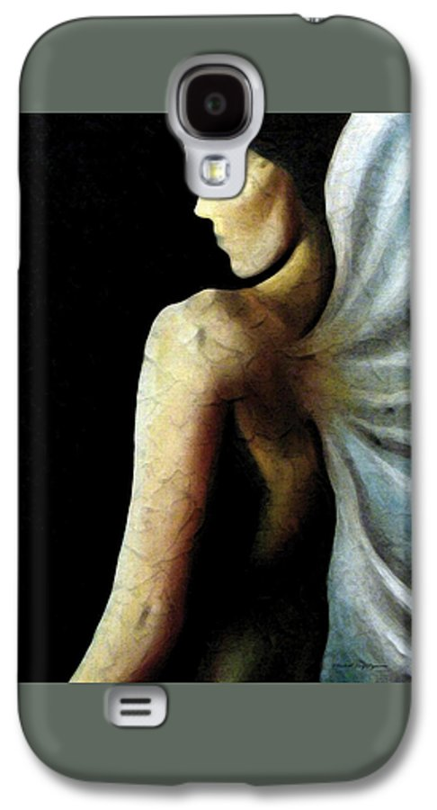 Angel Galaxy S4 Case featuring the painting Armaita Angel Of Truth Wisdom And Goodness by Elizabeth Lisy Figueroa