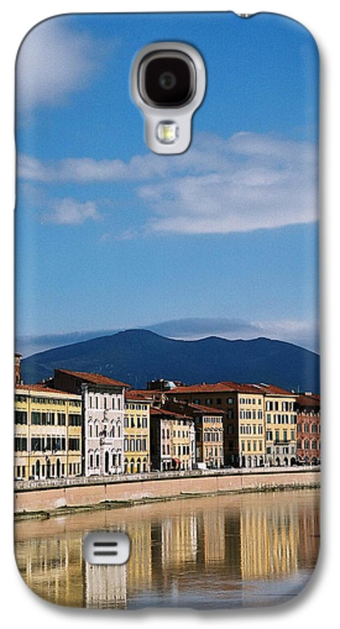 Pisa Galaxy S4 Case featuring the photograph Arno River Pisa Italy by Kathy Schumann