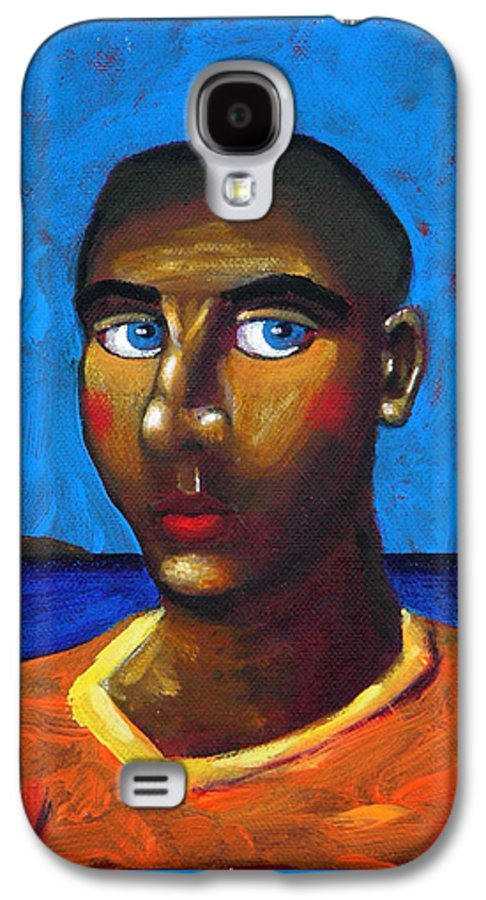 Arsonist Galaxy S4 Case featuring the painting Arsonist by Dimitris Milionis