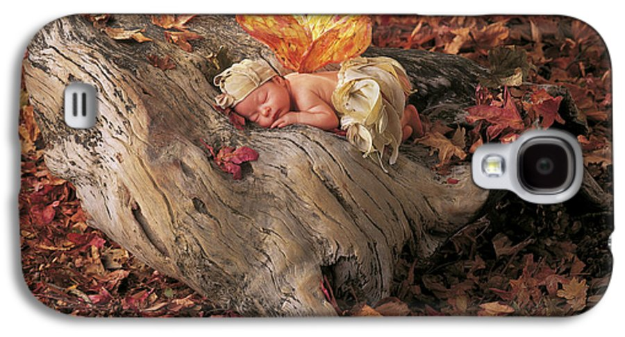 Fall Galaxy S4 Case featuring the photograph Woodland Fairy by Anne Geddes
