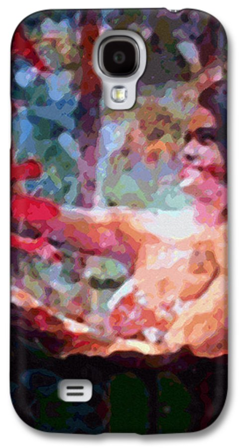 Rainbow Colors Digital Galaxy S4 Case featuring the photograph As If by Kenneth Grzesik