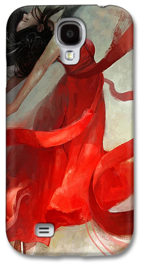 Dancer Galaxy S4 Case featuring the painting Ascension by Steve Goad