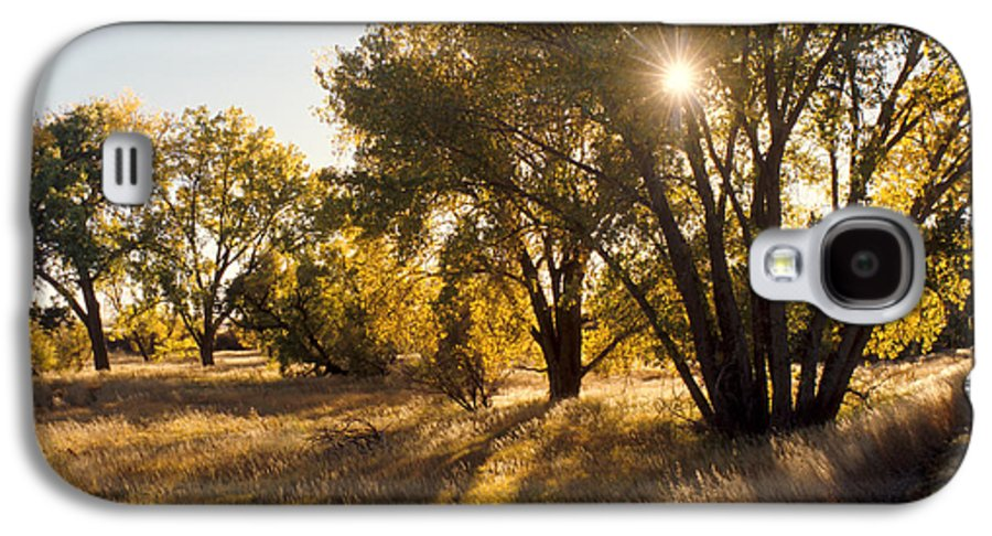 Fall Galaxy S4 Case featuring the photograph Autum Sunburst by Jerry McElroy